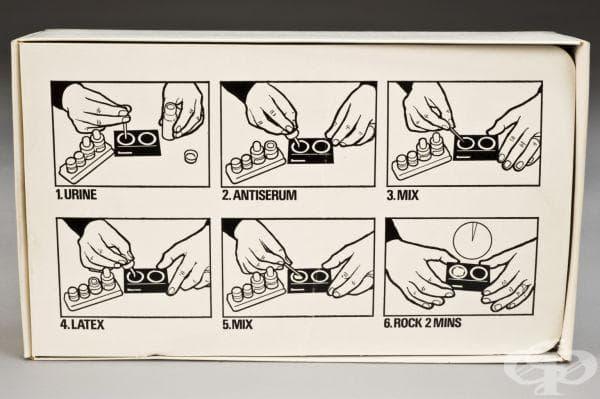 Тестове за бременност от 1980г.