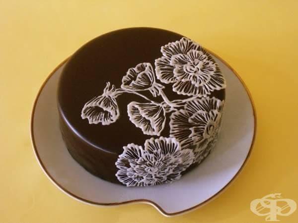 Шоколадова декорация за торта