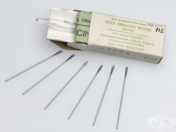 Медицински игли за ваксинация срещу едра шарка