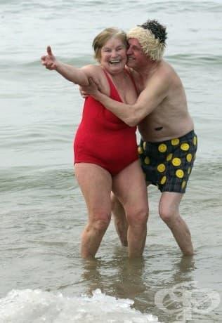 Двойката, която решава да се усмихне на живота - както всички ние трябва да правим!