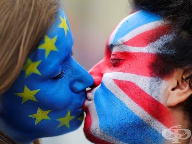 Излизането на Великобритания от Европейския съюз доведе до протести в целия континент.