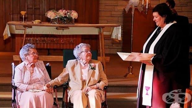 Две жени, които най-накрая могат да сключат брак, след 72 години заедно.