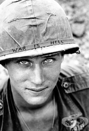Неизвестен войник на служба в Южен Виетнам, 1965.
