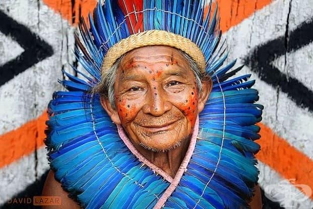 Управник на село в Бразилия.