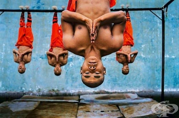 Обучение на монаси в Шаолин.