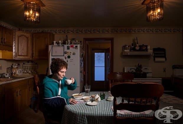 Реални сцени от вечерята в 36 различни домове!