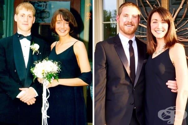 Малко жени могат да облекат една и съща рокля 20 години по-късно.