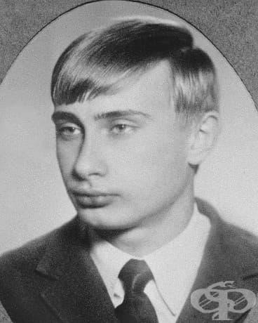 18-годишният Владимир Путин, 1970.