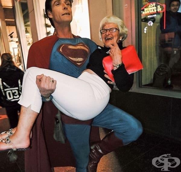 Всяка супербаба трябва да има супервнук.