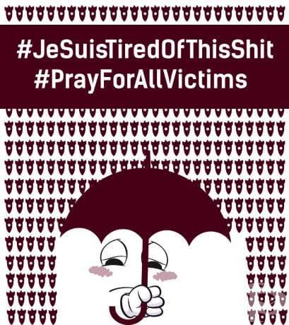 Молете се за Брюксел (#PrayForBrussels): един обединен свят в илюстрации