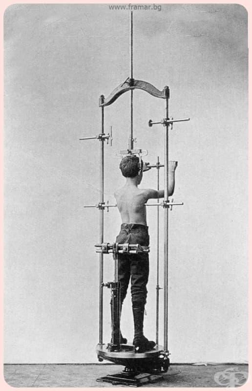 """""""Стъпете върху този уред за измерване на торса вижте детайлната карта на контурите му, а също и извивките на гръбнака ви!"""""""