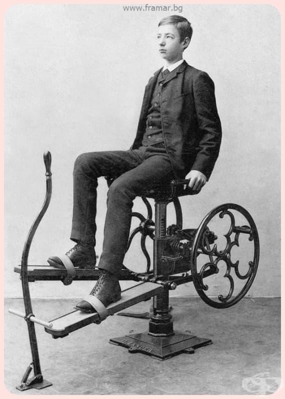 Предшественикът на велоергометъра