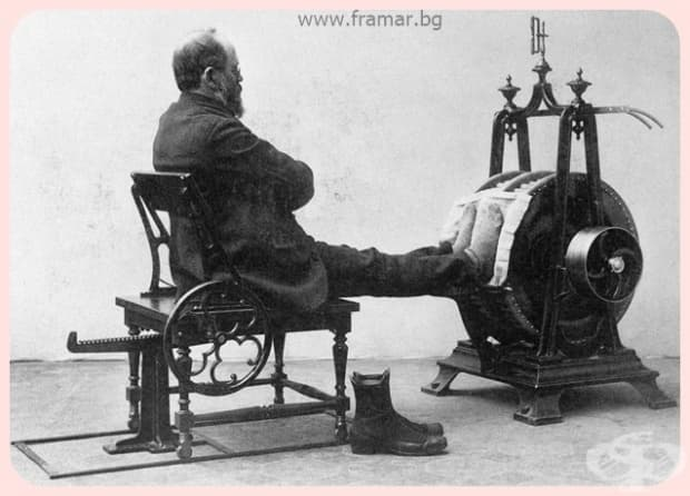 """""""Увеличаване на циркулацията на кръвта към уморените и студени ходила, с маса на краката."""""""
