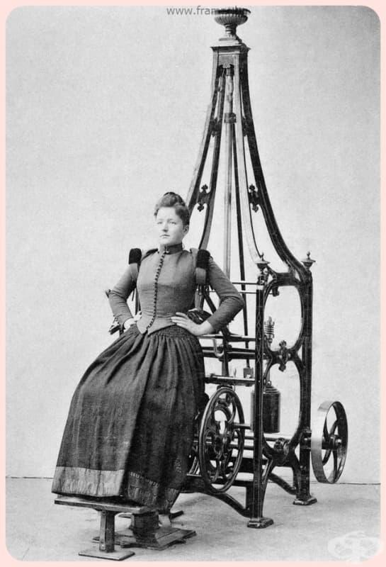 """""""В тази елегантна машина разширяване на гръдния кош, можете да повишите вашият пулс, чрез увеличаване на кръвния поток към белите дробове."""""""