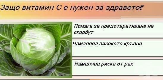 Защо витамин С е нужен за здравето?