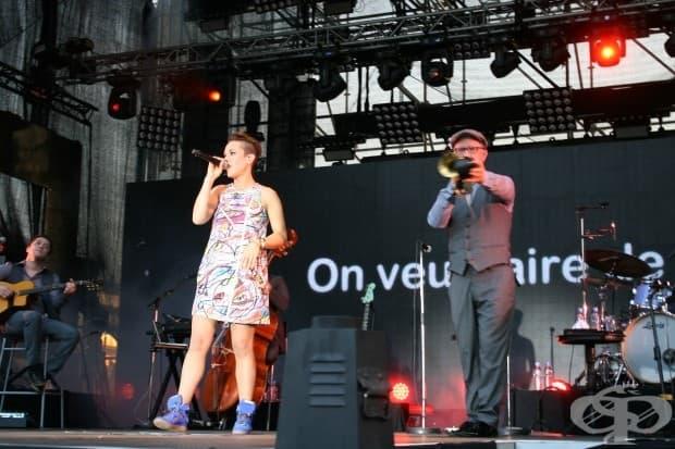 Втора вечер на международния музикален фестивал за съвременна франкофонска музика Lеs Francofolies