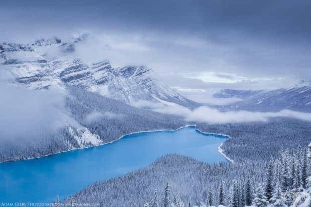 Езерото Пейто, Канада