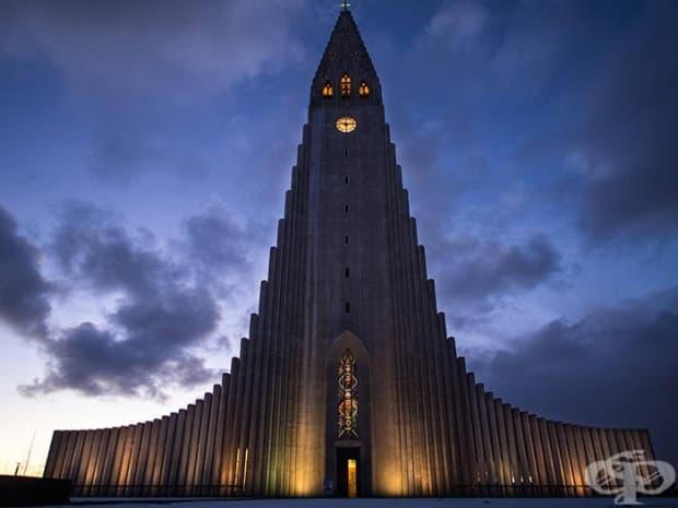 Халгримскиркя, Рейкявик, Исландия