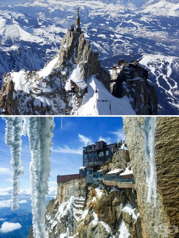 Aiguille Du Midi, Френските Алпи
