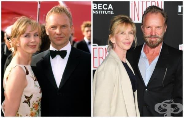 Стинг и Труди Стайлър – 24 години брак