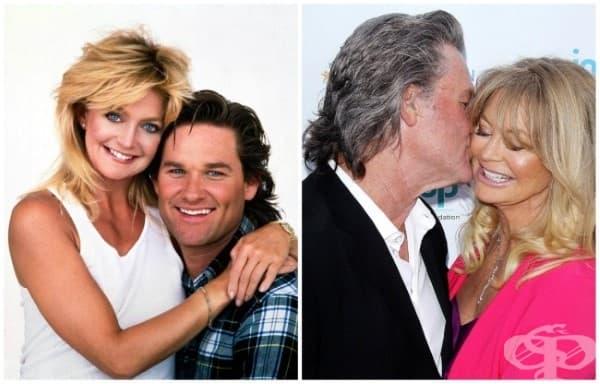 Голди Хоун и Кърт Ръсел – 33 години брак