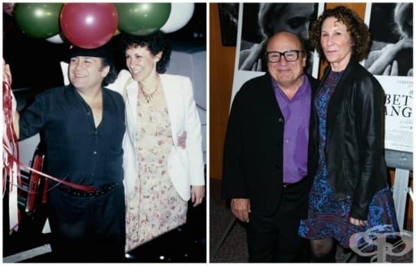 Дани де Вито и Реа Пърлмън – 34 години брак