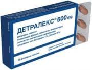 ДЕТРАЛЕКС табл. 500 мг. * 30