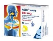 АЦЦ АКУТ HOT DRINK прах 600 мг. * 10