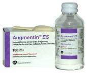 АУГМЕНТИН ES сусп. 600 мг. / 5 мл. 100 мл.