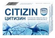 ЦИТИЗИН таблетки 250 мг. * 30