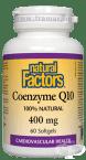 КОЕНЗИМ Q10 капсули 400 мг. * 60 НАТУРАЛ ФАКТОРС