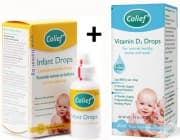 КОЛИЙФ КОМПЛЕКТ капки за бебета 15 мл. + витамин Д3 капки 20 мл.