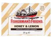 БОНБОНИ FISHERMAN'S FRIEND мед и лимон без захар 25 гр.