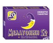 МЕЛАТОНИН SR + ПАСИФЛОРА табл. * 20