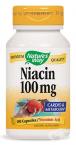 НИАЦИН капсули 100 мг. * 100 NATURE'S WAY