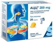 АЦЦ 200 прах 200 мг. * 20
