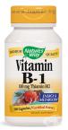ВИТАМИН Б 1 капсули 100 мг. * 100 NATURE'S WAY