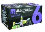 ИНСУЛИНОВА ИГЛА MEDFINE PLUS 6 мм. * 100 бр.