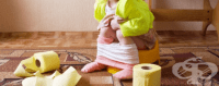 Диария при бебета и деца - домашни средства и храни