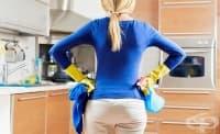 Чистенето помага да изхвърлим стресиращите мисли от главата