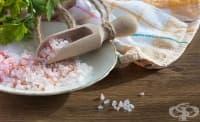Солта вероятно е ключов фактор при алергичните имунни реакции