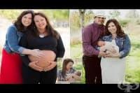 Американска се подготвя да роди за втори път внучето си