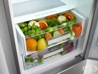 Едно от най-мръсните места в кухнята е отделението за зеленчуци в хладилника