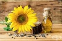 Слънчогледово олио за гладка кожа на лицето