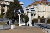 Соларни дървета ще зареждат мобилни устройства и инвалидни колички