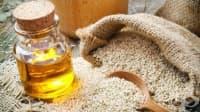 Сусамово масло при пърхот и напукани пети