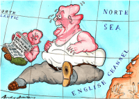 Защо във Великобритания напълняваме неусетно, сякаш ей така - от въздуха?
