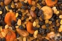 5-дневна диета с ядки и сушени плодове