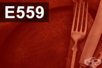 E559 Алуминиев силикат (Каолин)