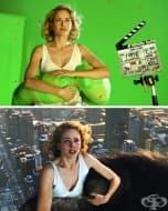 20 снимки на сцени зад кадър от култови филми